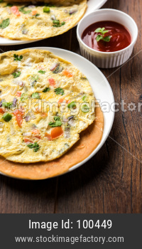Egg Chapati - Omelette Roll or Franky