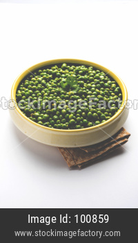 Spicy fried Green Peas pod or chatpata matar falli