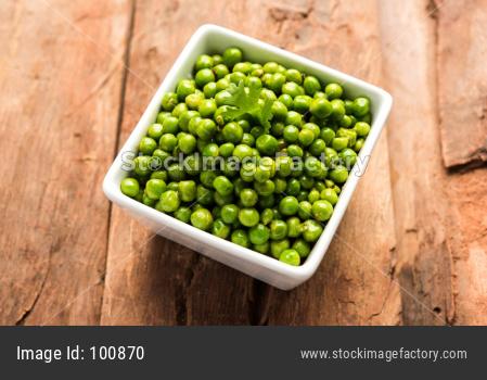 Spicy fried Green Peas pod or chatpata matar falli