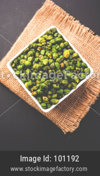 Roasted Green Chickpeas OR Bhuna Harbara