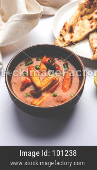 Indian Baby Corn Masala/curry