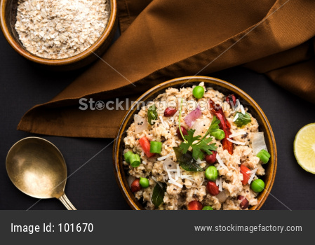 Masala Oats Upma or upama