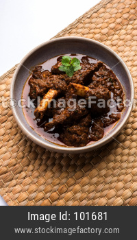 Bhuna Gosht Mutton masala OR Indian Lamb Curry
