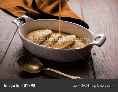 Rasmalai or Ras Malai jaggery flavour