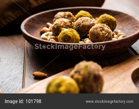 Energy Ladoo/ balls, dry fruit laddu or mithai
