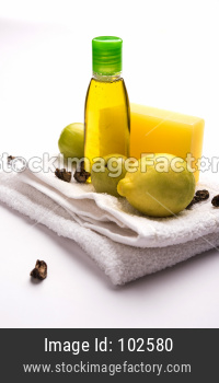 Handmade Lemon Soap and Shampoo with Amla and Reetha