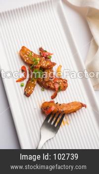 Honey Chilli Potato Wedges