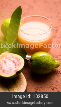Guava  juice or Amrud drink or Smoothie