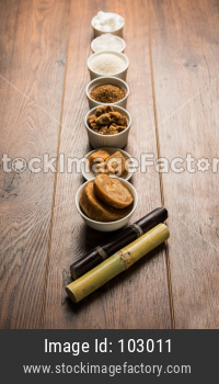 Jaggery, Sugar Variety and Sugarcane