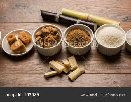 Jaggery, Sugar Variety and Sugarcane