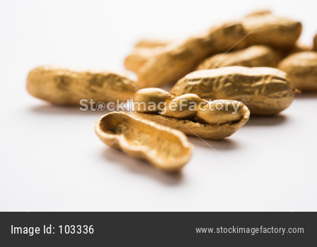 Golden peanut , exclusivity concept