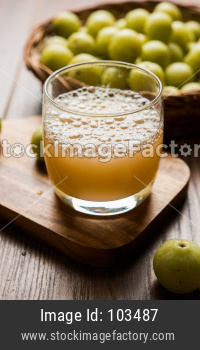 Fresh Ayurvedic Amla Juice / drink