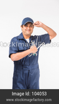Indian auto mechanic