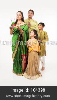 indians celebrating festival
