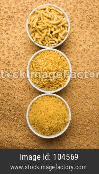 diwali snacks called sev or bhujiya
