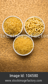 diwali snacks called sev or bhujiya