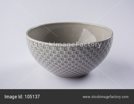 Brown Empty Ceramic Bowl