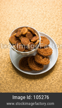 Bhakarwadi OR bakar vadi Tea Time Snack from Maharashtra and Gujarat
