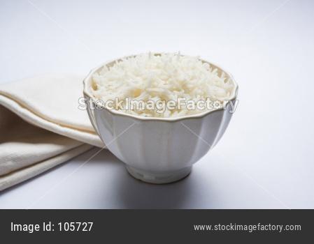 Cooked Basmati Rice