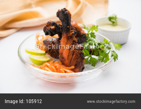 Chicken Tangdi / Tangri kabab or kebab