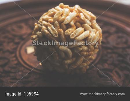 murmura laddu OR caramel puffed rice balls