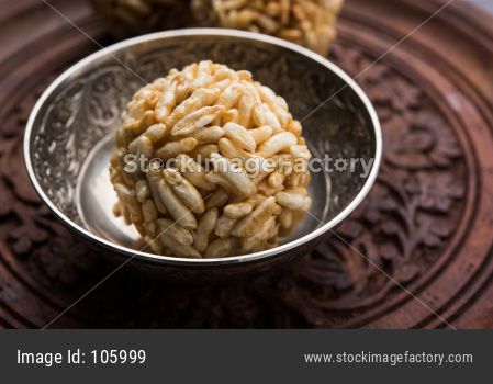 murmura laddu OR caramel puffed rice balls