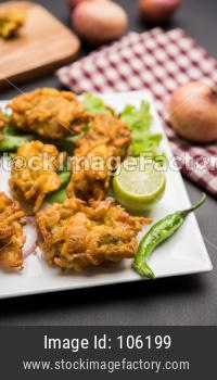Crispy Kanda bhaji/Bhajji or Pyaj Pakode or fried onion pakora