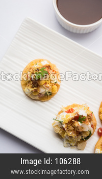 Sev Batata Puri OR Papdi chat