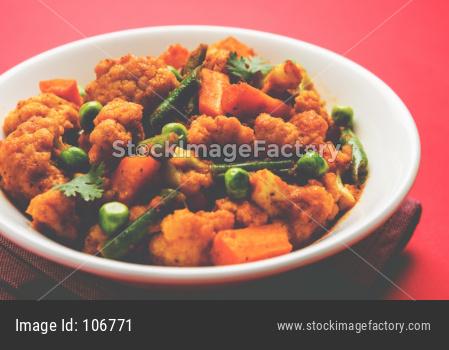 Phool Gobi Matar Masala OR cauliflower Curry