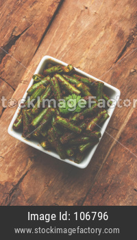 Green beans Masala dry curry