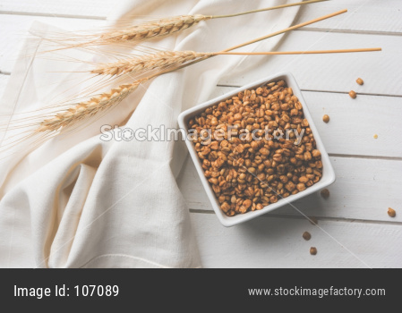 Roasted Crunchy Wheat - Indian Dietary Supplement