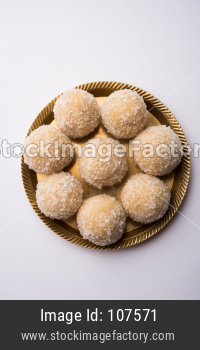 Coconut Sweet Laddoo OR Nariyal Laddu