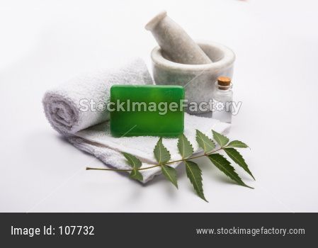 Ayurvedic Neem Bath Soap made up of Azadirachta indica