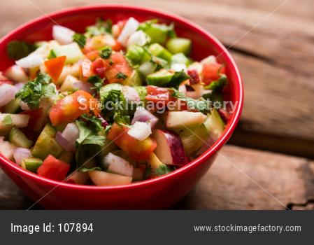 Kachumber / Green Salad / Koshimbir