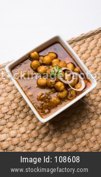 Chole / Chickpeas Masala curry
