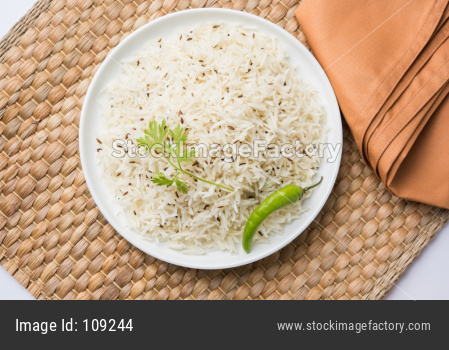 Cumin rice or Jeera Rice