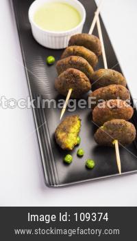 Hara Bhara Kabab or Green Peas Pakora