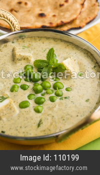 Methi Malai Paneer with Matar