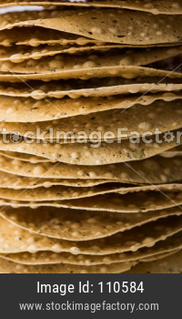 Papad / Crackers Roasted or fried