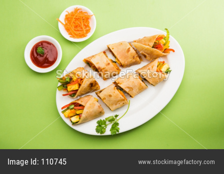 Veg Spring Roll OR Chapati Wrap