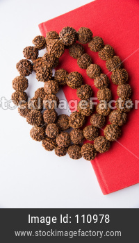 Rudraksha mala or Prayer Beads