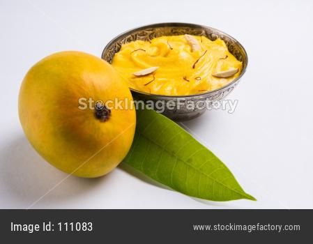 Amrakhand or Alphonso Shrikhand