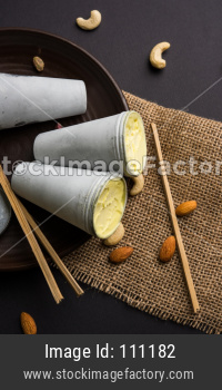 Shahi Kulfi or Indian Ice Cream Candy