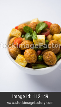 Soya Chunks Fry OR Meal Maker Fry