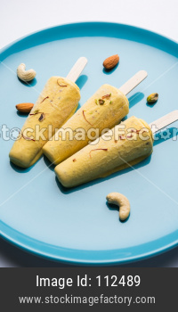 Kulfi or Ice Cream Candy