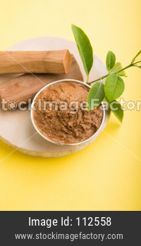 Chandan or sandalwood paste and sticks