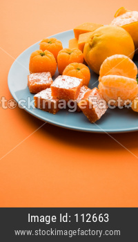 Orange / Santra Barfi