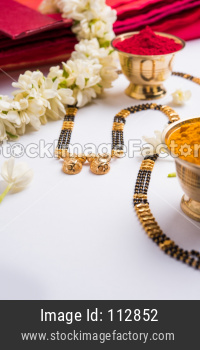 Mangalsutra or Golden Necklace