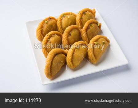 Gujiya OR Karanji sweets