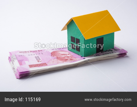 Indian and real estate concept